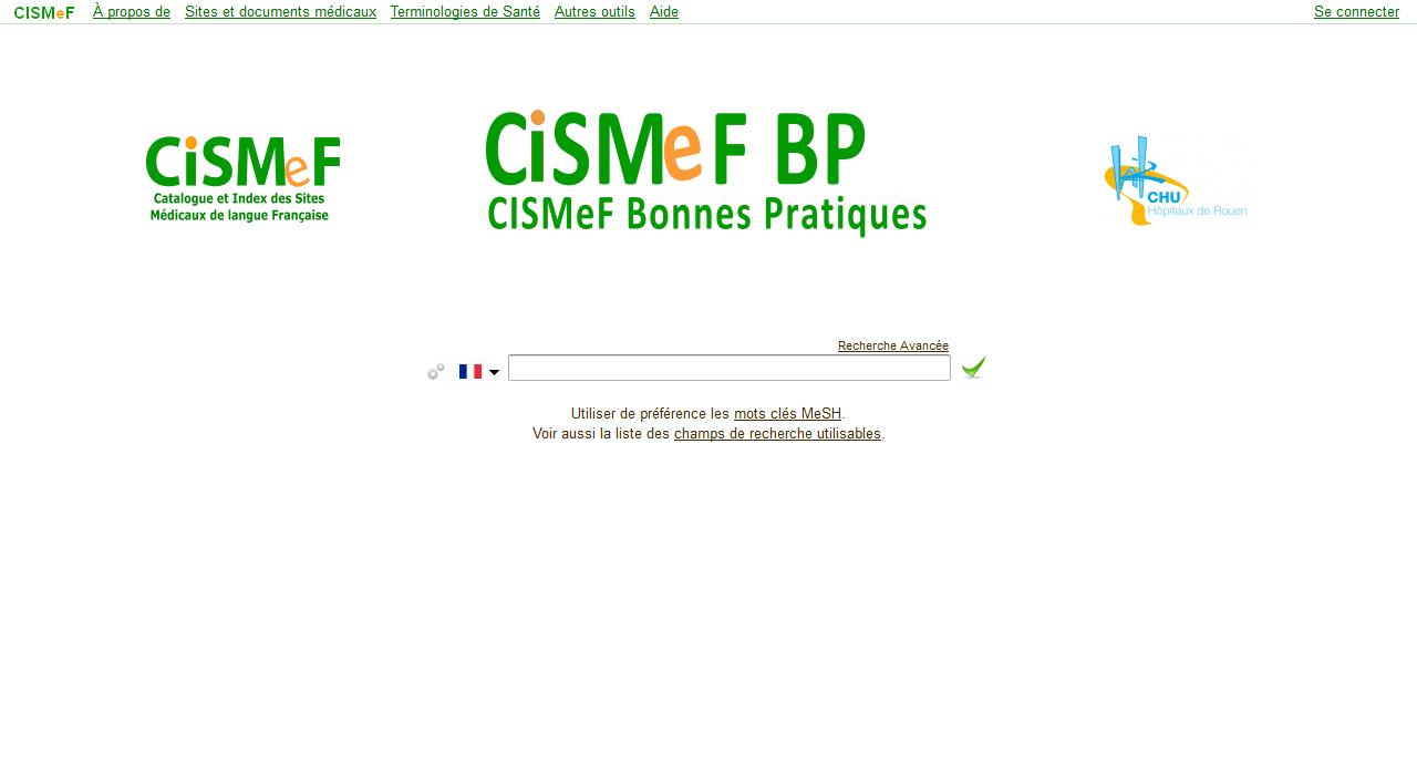 CISMeF - Bonnes Pratiques